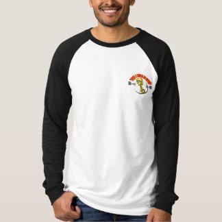 """Camisa Básica  Raglan -Troça A cabeça do """"Pistão"""" Camisetas"""