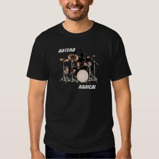 camisa bateria tshirt