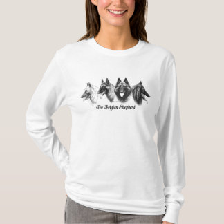 Camisa belga das senhoras de Tervuren Malinois do