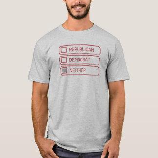 Camisa bem escolhida apoiante múltipla