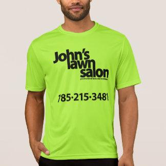 Camisa biking do salão de beleza do gramado de