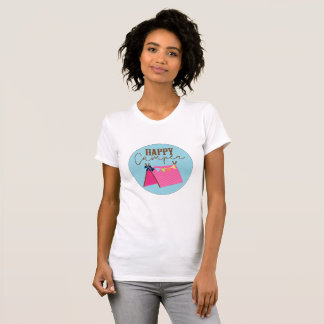 Camisa boémia da barraca do campista feliz
