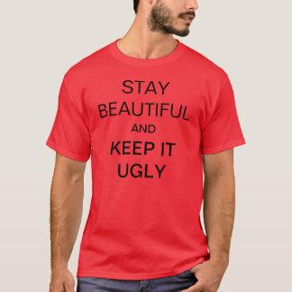 Camisa bonita da estada