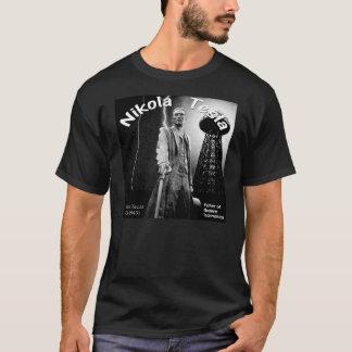Camisa bonita de Nikola Tesla T
