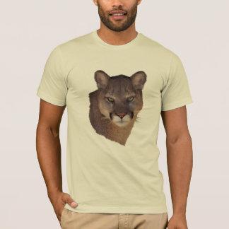 Camisa bonita do gato grande de leão de montanha