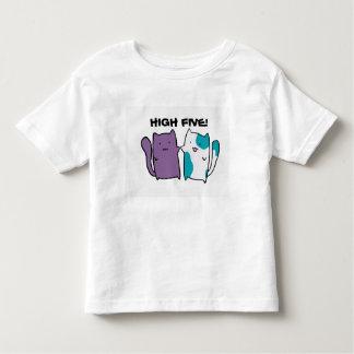Camisa bonito da criança do gatinho