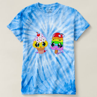 Camisa bonito da tintura do laço da arte dos