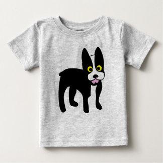 Camisa bonito de Boston Terrier dos desenhos