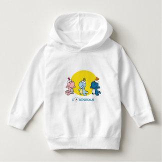 Camisa bonito de Dino para miúdos