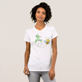 Camiseta Camisa bonito de Lyme da abelha do mel de