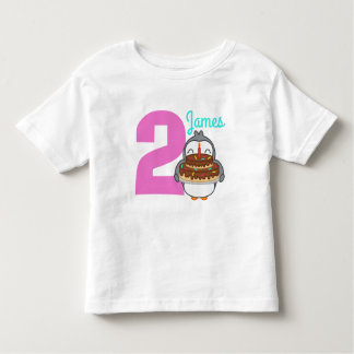 Camisa bonito do aniversário T do nome da criança