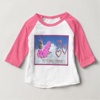 Camisa bonito do passarinho de Ballareina