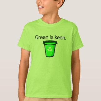 Camisa bonito do reciclagem para miúdos