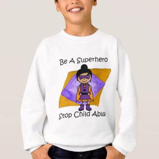 Camisa bonito do super-herói