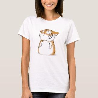 Camisa bonito do tigre