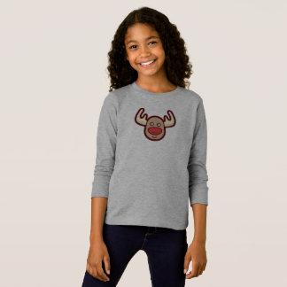Camisa bonito e simples da luva da rena   de