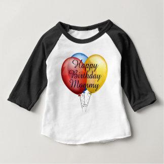 Camisa bonito feita sob encomenda do bebê das