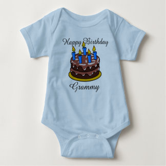 Camisa bonito feita sob encomenda do bebê de