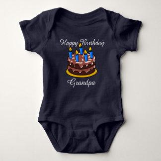 Camisa bonito feita sob encomenda do bebê do vovô