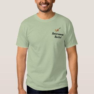 Camisa bordada aposentadoria do golfe