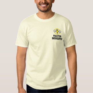 Camisa bordada costume do apicultor