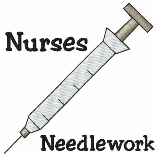 Camisa bordada enfermeira