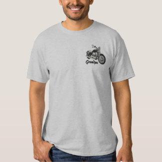 Camisa bordada motociclista do vovô