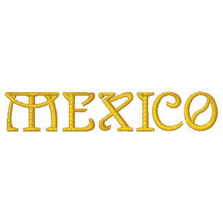 Camisa bordada patriótica do desenhista de MÉXICO
