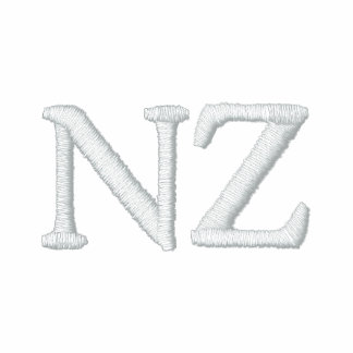 Camisa bordada patriótica do desenhista de NZ