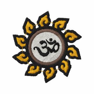 Camisa bordada símbolo do OM da ioga