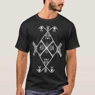 Camisa branca do design T da arte de Amazigh