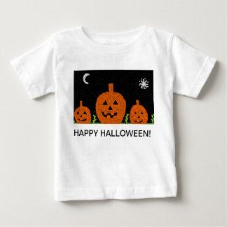 camisa branca do Dia das Bruxas t das crianças