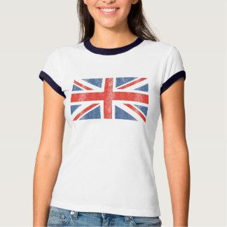 Camisa BRITÂNICA britânica de Jack T da bandeira Camisetas