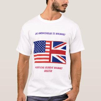 Camisa BRITÂNICA não oficial de Walmart (ASDA)