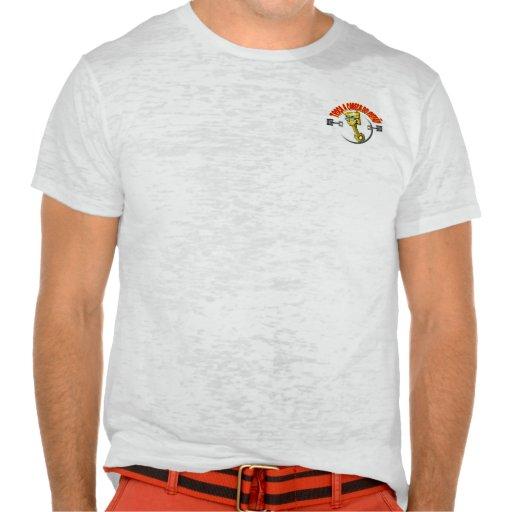 """Camisa Burnout da Troça A Cabeça do """"Pistão"""" Camisetas"""