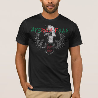 Camisa Camisa-Escura de Fran do afegão original