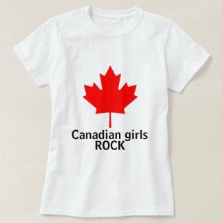 Camisa canadense das senhoras da rocha das meninas