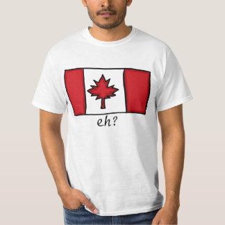 Camisa canadense do valor das caras