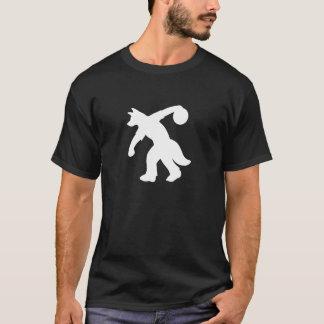 Camisa canina antropomórfica branca 0001 da