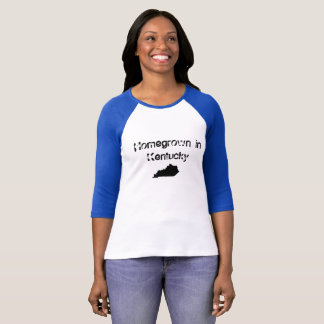 Camisa caseiro do Kentucky das mulheres
