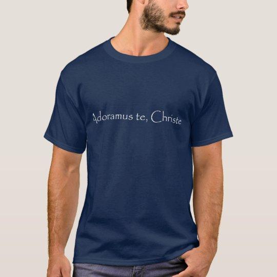 Camisa católica - adoração eucarística