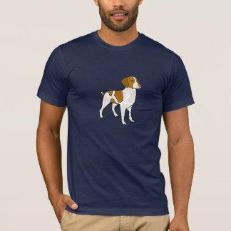 Camisa CD dos desenhos animados do Spaniel de