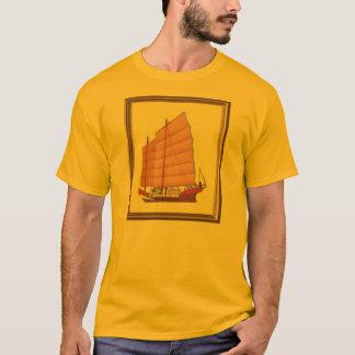 Camisa chinesa da sucata T