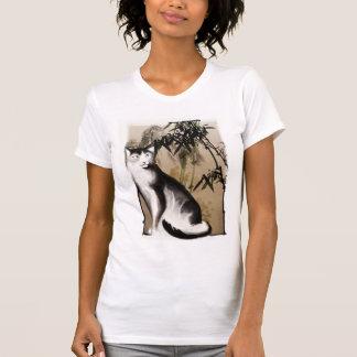 Camisa chinesa do gato t-shirt