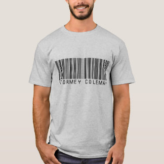 Camisa cinzenta do logotipo de Stormey Coleman