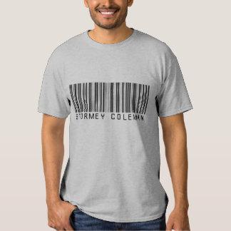 Camisa cinzenta do logotipo de Stormey Coleman Camiseta