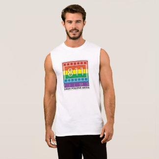 Camisa clássica do músculo do logotipo do