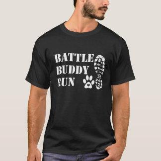 Camisa clássica funcionada amigo da batalha na