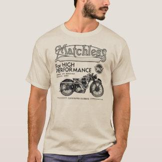 Camisa clássica incomparável da motocicleta T