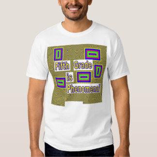 Camisa com design quinto grau SHFG1.1 Tshirts